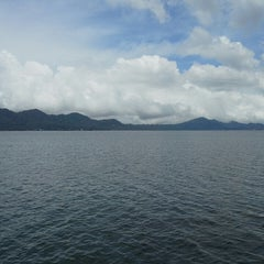 Photo taken at Danau Tondano by Widya S. on 4/14/2015