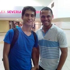 Photo taken at cinema shopping boa vista by Jailson Santos TIM BETA on 7/26/2014