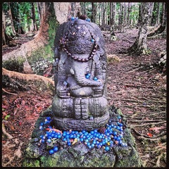 Photo taken at Kauai Hindu Monastery by Rick K. on 6/24/2013
