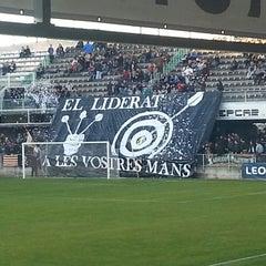 Photo taken at Estadio Municipal Castalia by Isaac G. on 12/21/2014
