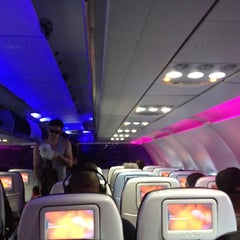 Photo taken at Virgin America by Anna L. on 5/15/2013