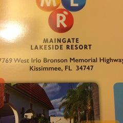 Photo taken at Maingate Lakeside Resort by Adolfo F. on 5/8/2015