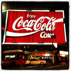Photo taken at The Coca-Cola Billboard by Reneyo on 9/8/2013
