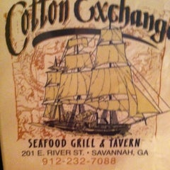 Photo taken at The Cotton Exchange by Kathy O. on 9/30/2012