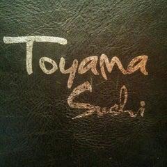 Photo taken at Toyama Sushi by Thibaut C. on 9/25/2015