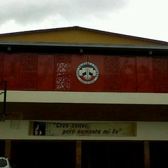 Photo taken at Liceo Salazar y Herrera by Anacata O. on 12/3/2012