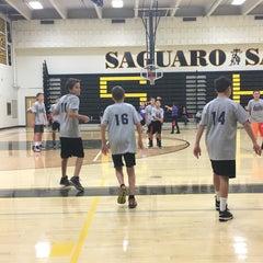 Photo taken at Saguaro High School by Rob M. on 11/14/2015