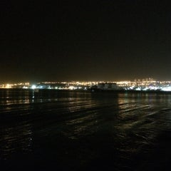 Photo taken at Northen Beach (החוף הצפוני) by Yana S. on 4/19/2014