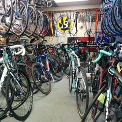 Photo taken at Slough's Bike Shoppe by Ray R. on 9/19/2014