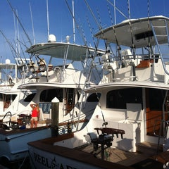 Photo taken at Pirates Cove Marina by Capt. Curtis J. on 8/9/2013