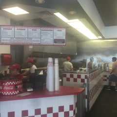 Photo taken at Five Guys by Sarah F. on 5/9/2015