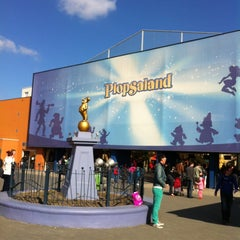 Photo taken at Plopsaland by Maxim D. on 5/4/2013
