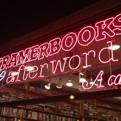 Photo taken at Kramerbooks & Afterwords Cafe by James C. on 12/9/2012