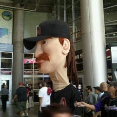 Photo taken at Chase Field by Allie E. on 6/9/2013