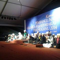 Photo taken at Dataran Shah Bandar Kuala Terengganu by Dr (H) Ustaz Wan Mohd Abzal b. on 3/27/2014