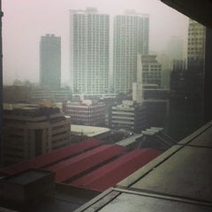 Photo taken at VGP Center (formerly the Manila Bank building) by Patrick T. on 7/26/2013