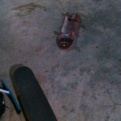 Photo taken at AB Skatepark by Fajar K. on 3/31/2014
