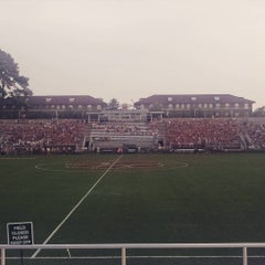 Photo taken at Historic Riggs Field by Brian M. on 8/28/2015