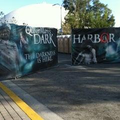 Photo taken at Queen Mary's Dark Harbor by Erik V. on 10/4/2013