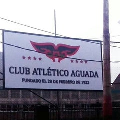 Photo taken at Club Atlético Aguada by Mauri C. on 12/27/2013