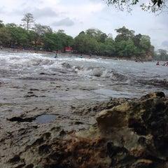 Photo taken at Pantai Batu Karas by Rangga S. on 11/15/2015
