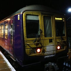 Photo taken at Sevenoaks Railway Station (SEV) by Matt W. on 1/14/2013