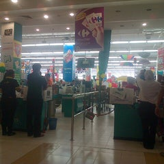 Photo taken at Carrefour by Phapa R. on 7/17/2014
