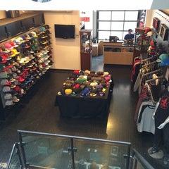 Photo taken at New Era Flagship Store: Toronto by Emiliano M. on 5/3/2014