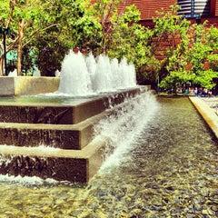 Photo taken at Yerba Buena Gardens by Michael F. on 5/15/2013