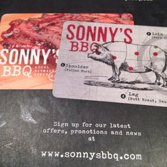 Photo taken at Sonny's BBQ by Lisa D. on 6/7/2014
