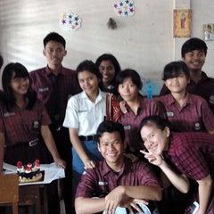Photo taken at SMA St. Thomas 3 Medan by Fransiskus S. on 6/19/2014
