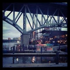 Photo taken at Aquabus Granville Island Dock by Vladimir on 12/15/2012