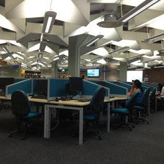 Photo taken at Robinson Library by Don R. on 7/24/2013
