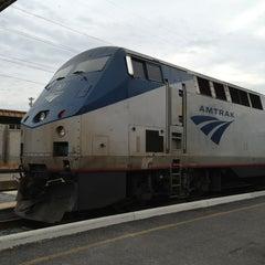 Photo taken at Richmond Amtrak Station (RVR) by Donald W. on 2/5/2013