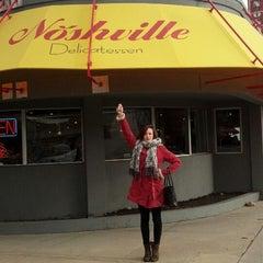 Photo taken at Noshville by Amanda on 2/16/2013