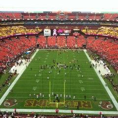Photo taken at FedEx Field by Annie W. on 10/7/2012
