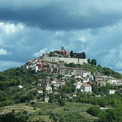 Photo taken at Motovun - Montona by David A. on 5/20/2013