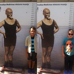 Photo taken at P. Stradiņa Medicīnas Vēstures Muzejs by Elina K. on 8/29/2015
