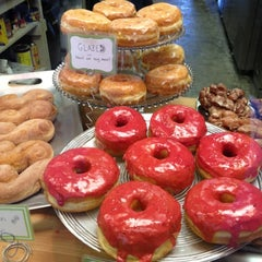 Photo taken at Glazed Gourmet Doughnuts by Marguerite A. on 11/8/2012