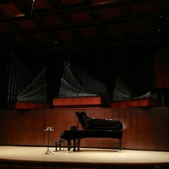 Photo taken at Paul Recital Hall at Juilliard by Lionel C. on 5/28/2013