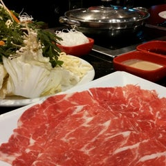 Photo taken at Tokyo Shabu Shabu by Phil on 3/30/2015