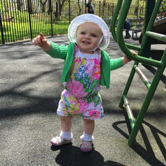 Photo taken at Rudin Family Playground by Katie F. on 4/28/2015