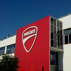 Photo taken at Ducati Motor Factory & Museum by Ayako H. on 9/20/2012