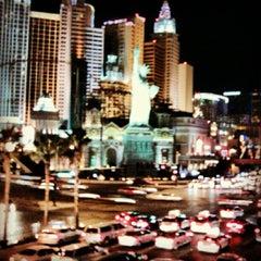 Photo taken at New York-New York Hotel & Casino by Julien G. on 2/19/2013