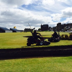 Photo taken at Old Course Hotel Golf Resort & Spa by Anthony S. on 5/24/2015