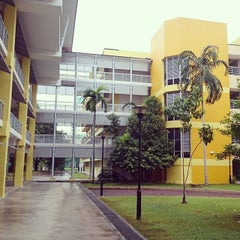 Photo taken at Bukit View Secondary School by Indra P. on 12/6/2014