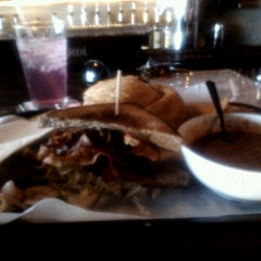 Photo taken at Gourmands Neighborhood Pub by Hannah S. on 12/17/2012