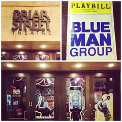 Photo taken at Blue Man Group at the Briar Street Theatre by Mike F. on 3/1/2013