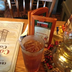 Photo taken at Cracker Barrel Old Country Store by Erin E. on 12/23/2012