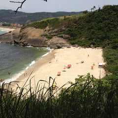 Photo taken at Praia do Sossego by Bruno W. on 1/2/2013